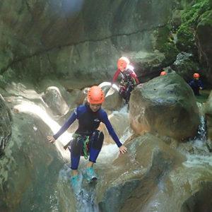 canyoning